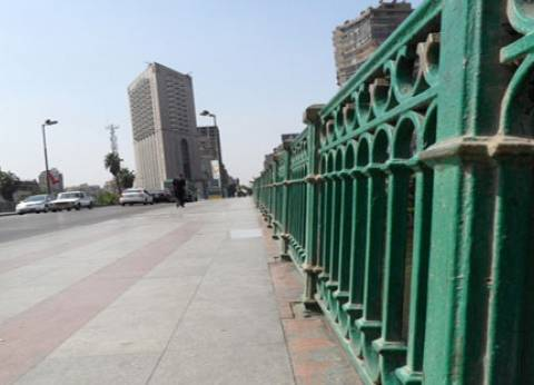 مدير مشروع القاهرة الخديوية: انتهاء تطوير كوبري الجلاء الأسبوع المقبل