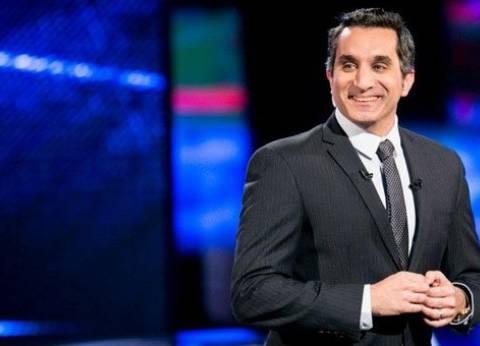 """باسم يوسف لـ""""العليا"""": """"نسب التصويت 30%؟.. عبط إحنا يا عصام"""""""