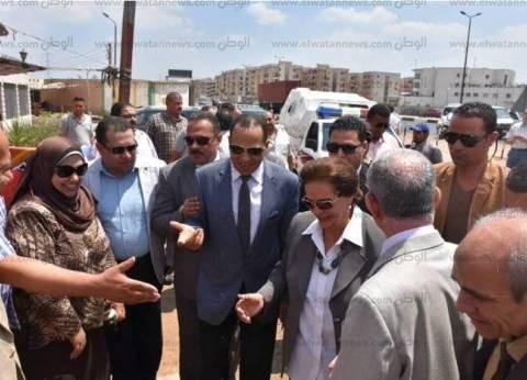 محافظ البحيرة ورئيس جامعة دمنهور يتفقدان منفذ بيع اللحوم البلدي