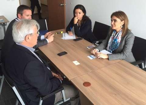"""وزيرة التعاون الدولي تبحث التعاون مع """"برنامج الأمم المتحدة للمستوطنات"""""""