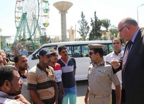 مدير أمن دمياط يحذر السائقين من رفع الأجرة خلال عطلة العيد