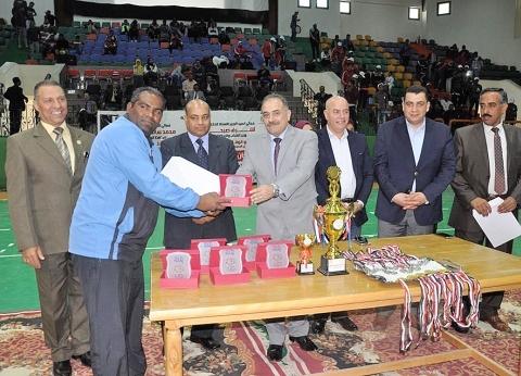 """جامعة الوادي الجديد تفوز على سوهاج في نهائي """"ألعاب الجنوب"""""""
