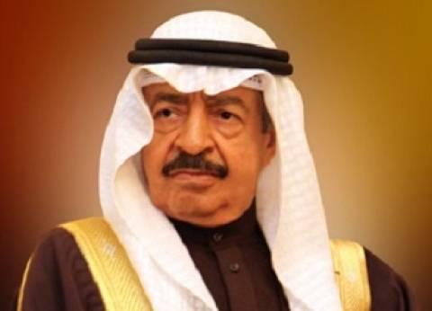 """رئيس الوزراء البحريني يعزي السيسي و""""إسماعيل"""" في حادث طائرة """"مصر للطيران"""""""