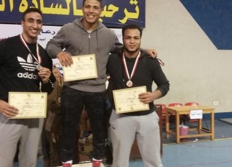 جامعة الإسكندرية تفوز بالمركز الأول في مسابقة للمصارعة الحرة