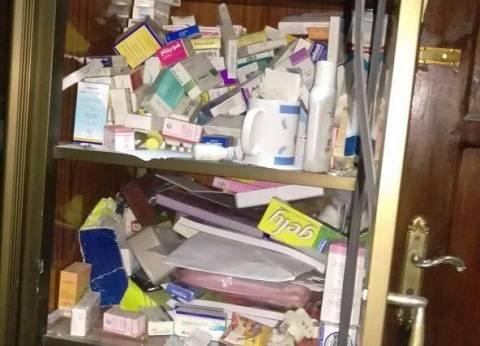 ضبط مسؤول إدارة صيدلية بحوزته 354 عبوة أدوية منتهية الصلاحية بالفيوم
