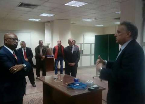 """وزيرا الري المصري والإثيوبي يزوران """"المركزية لنظم الرصد والاتصالات"""""""