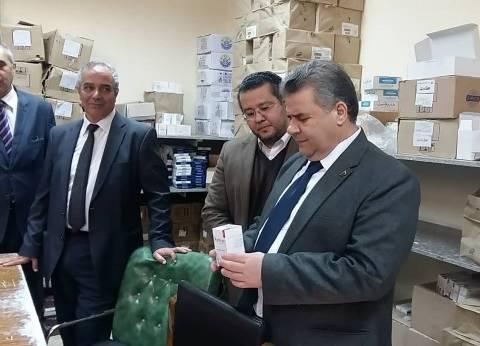 رئيس جامعة بنها يناقش خطة العمل مع رئيس مجلس إدارة المستشفيات الجامعية