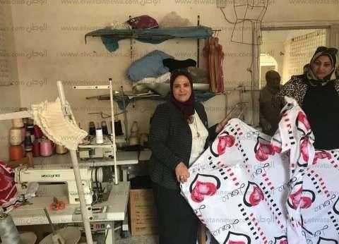 بالصور| مؤسسة الصفا تدرب 180 سيدة على المشغولات اليدوية وصناعة الألبان