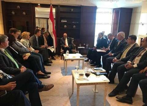 عبدالعال يلتقي رئيس جمعية الصداقة البرلمانية الألمانية المصرية
