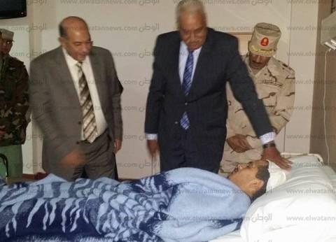 بعد تكريمه في عيد الشرطة.. واقعة استشهاد مجند أحمد السيد محمد