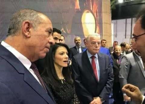 محافظ جنوب سيناء يشارك في افتتاح معرض وسوق السفر والسياحة العربي بدبي