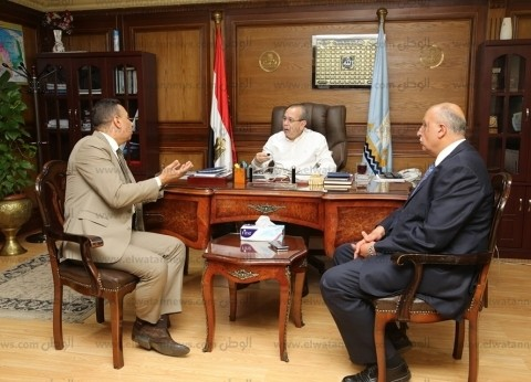 إنشاء 3 محطات مياه شرب وإجراء قرعة على 233 مقبرة في كفر الشيخ