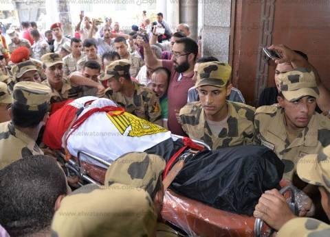 """دينا رامز تنعى شهداء رفح: """"الإرهاب لن ينال من الجيش المصرى ووحدته"""""""