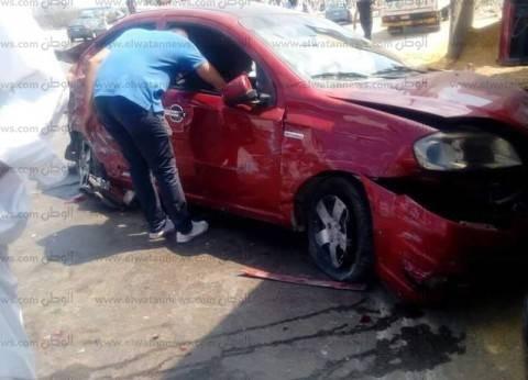 قائمة أسماء مصابي وضحايا حادث تصادم سيارتين بصحراوي بني سويف