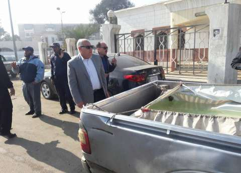 """محافظ بورسعيد يضبط 4 سيارات تهرّب """"أسماك زريعة"""""""
