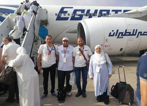 """""""مصر للطيران"""": تسير رحلات جديدة لنقل 3 آلاف و321 من حجاج فلسطين"""