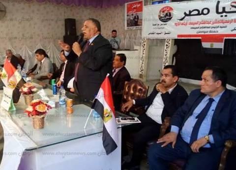 أمين اتحاد العمال: السيسي أعاد كرامة مصر في الداخل والخارج