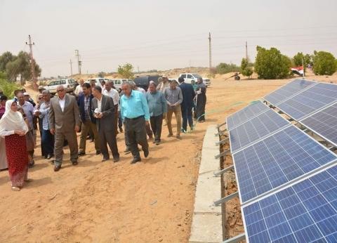 الوادي الجديد تسعى للاستغناء عن الكهرباء بمشروعات الطاقة الشمسية