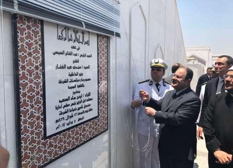 بالصور| وزير الداخلية يفتتح مسجد ودار مناسبة الشرطة بالقاهرة الجديدة