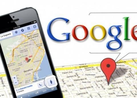 """""""خرائط جوجل"""" تظهر بعض المناطق بلوس أنجلوس الأمريكية كأنها غارقة"""