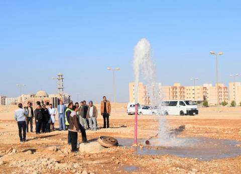 ضخ مياه نهر النيل لجامعة سوهاج الجديدة للمرة الأولى