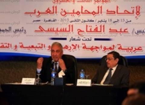 اتحاد المحامين العرب يطالب بإعادة مقعد سوريا في الجامعة العربية