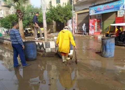 """تراجع إقبال الناخبين على لجان """"سنرو القبلية"""" بالفيوم بسبب """"الأمطار"""""""
