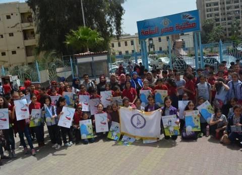 """""""مياه الدقهلية"""" تحتفل باليوم العالمي للمياه بمكتبة مصر العامة"""