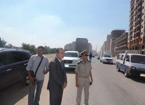 مدير أمن الغربية يتفقد الخدمات الأمنية والمرورية بطنطا