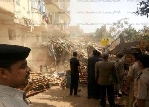 بالصور| مدير أمن الغربية يشن حملة لإزالة التعديات على نهر النيل