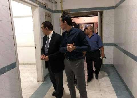 """وكيل """"صحة السويس"""" يطمئن على حضانات المستشفى العام بعد انقطاع الكهرباء"""