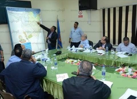 بالصور| تفاصيل اجتماع رئيس الوزراء في البحيرة لمواجهة أزمة السيول