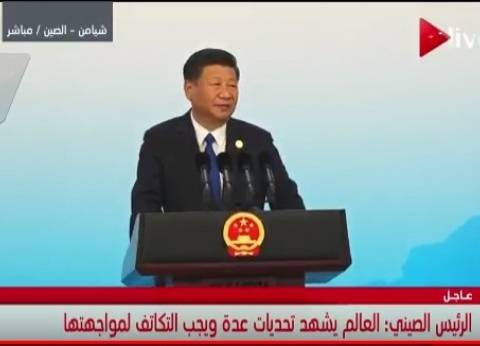 الرئيس الصيني يختتم «بريكس» ويوجه الشكر لقادة الدول المشاركة