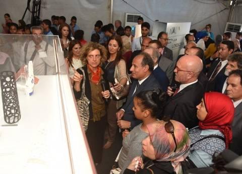 """محافظ الإسكندرية يفتتح معرض """"إيطاليا: جمال المعرفة"""""""
