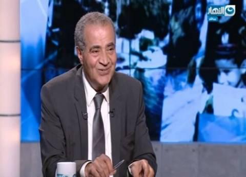 """وزير التموين: """"شنط رمضان"""" بها 2 كيلو سكر و3 أرز.. ونسعى لخدمة المواطن"""