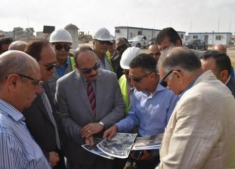 """محافظ الإسكندرية يكلف بإنشاء """"شنايش"""" جديدة وتوسيعها لاستيعاب الأمطار"""