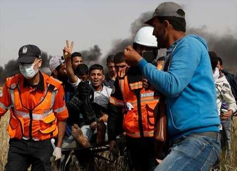 عاجل| وقوع 363 إصابة بالرصاص والغاز خلال مواجهات بشرق غزة