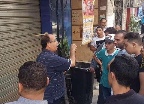 رئيس حي الزيتون عن غلق عدد من المقاهي: المدارس فاضية.. والطلبة بيشيشوا