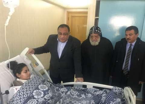 """رئيس جامعة حلوان يؤجل امتحانات طالبة أصيبت في هجوم """"كنيسة حلوان"""""""