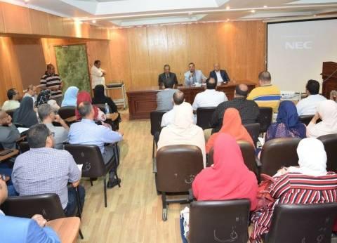 رئيس جامعة سوهاج: المستشفى وصل لمستوى عال في القضاء على قوائم الانتظار