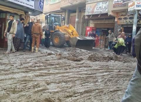 """تحسنت الأحوال الجوية وبقي """"الطين"""" في شوارع قرى الدقهلية"""
