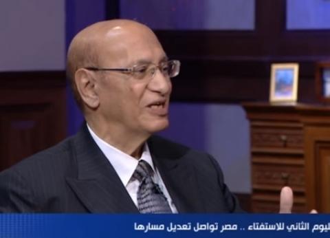 نائب رئيس المحكمة الدستورية سابقا: الإقبال على الاستفتاء غير مسبوق