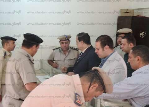 بالصور| مدير أمن كفر الشيخ يتفقد المواقع الشرطية والأكمنة في دسوق