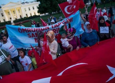 """جمعيات """"تركية أمريكية"""" تنظم تجمع """"الديمقراطية ضد الانقلاب"""" أمام البيت الأبيض"""