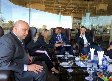 اجتماعات مكثفة مع نائب رئيس ساحل العاج لزيادة التعاون التجاري
