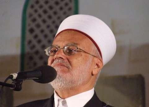 """عكرمة صبري: """"الأوقاف الإسلامية"""" تعيق مخطط تهويد القدس"""