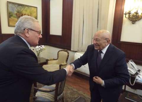 """رئيس """"القومي لحقوق الإنسان"""" لسفير إيطاليا: نهتم بتفقد أوضاع السجون"""