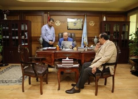 محافظ كفر الشيخ يوجه بإزالة تعديات الأراضي: لن نفرط في حق الشعب