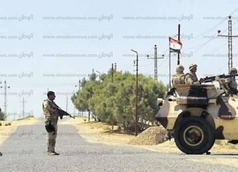 """""""أمن شمال سيناء"""" تحبط محاولة استهداف مدني على يد عناصر مسلحة"""