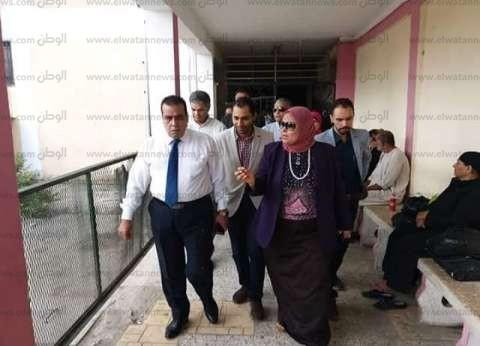 رئيس جامعة القناة يزور المستشفى الجامعي ويؤكد: لا استثناء في المعاملة